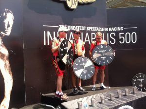 3UP TT Podium Indy