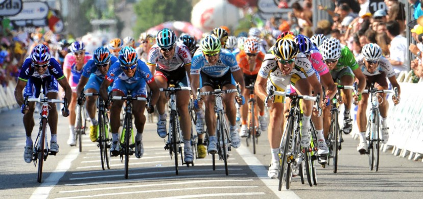 MARK CAVENDISH ON STAGE ELEVEN OF THE TOUR DE FRANCE